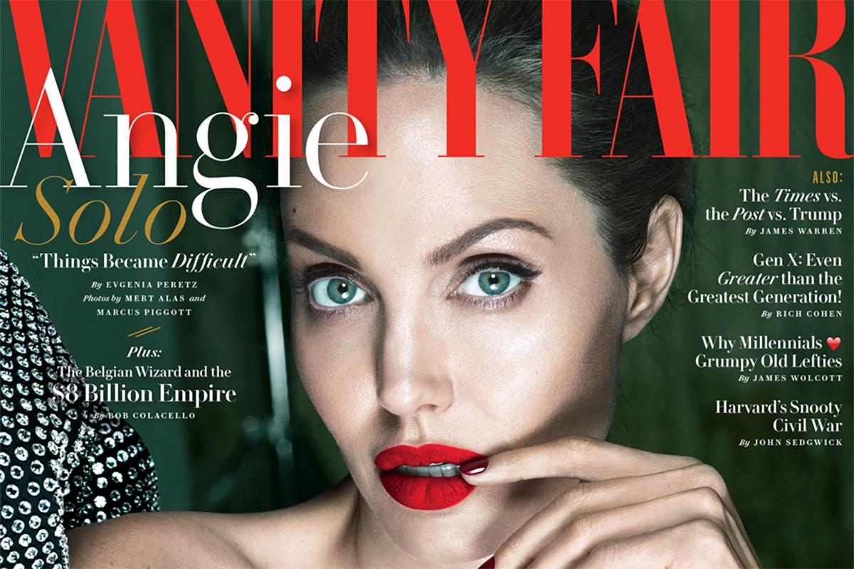 Angelina fair jolie vanidad desnuda
