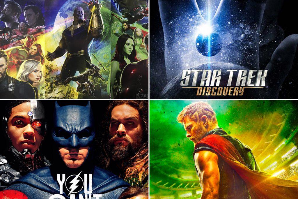 Checa todos los trailers de la Comic-Con 2017