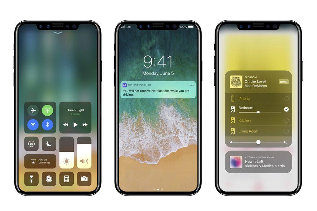 Así luciría el iPhone 8 según las últimas filtraciones. Foto: Twitter