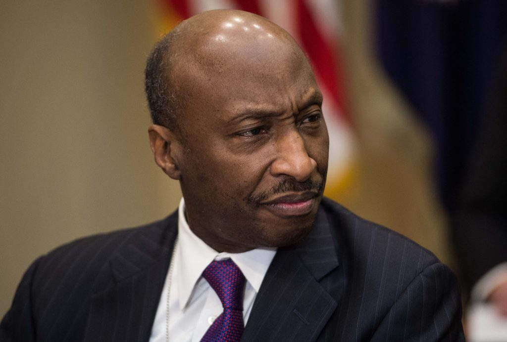 Kenneth Frazier. @AFP