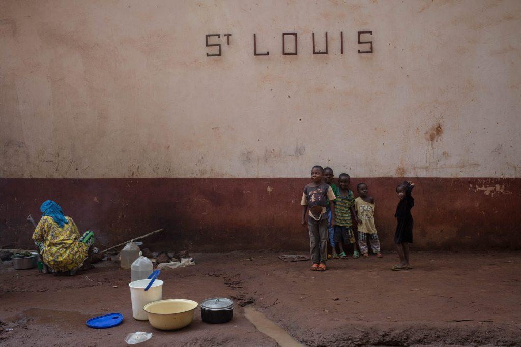 Refugio de menores musulmanes en África. @AFP