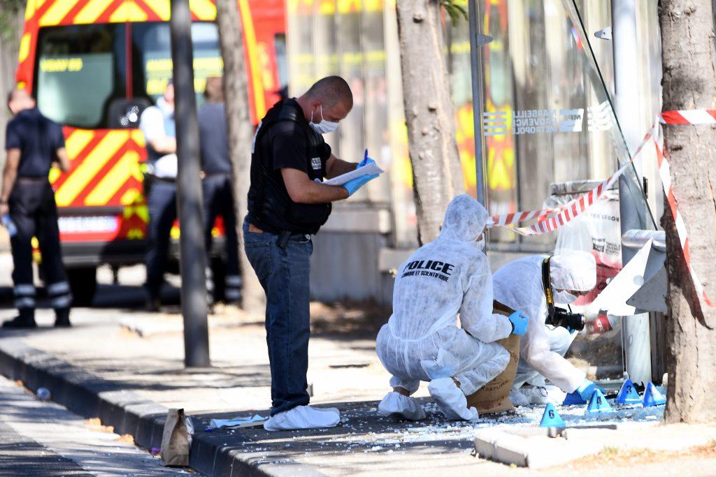 Tragedia en Marsella. @AFP