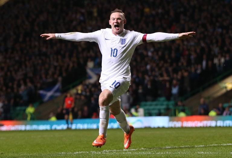 Wayne Rooney. @AFP
