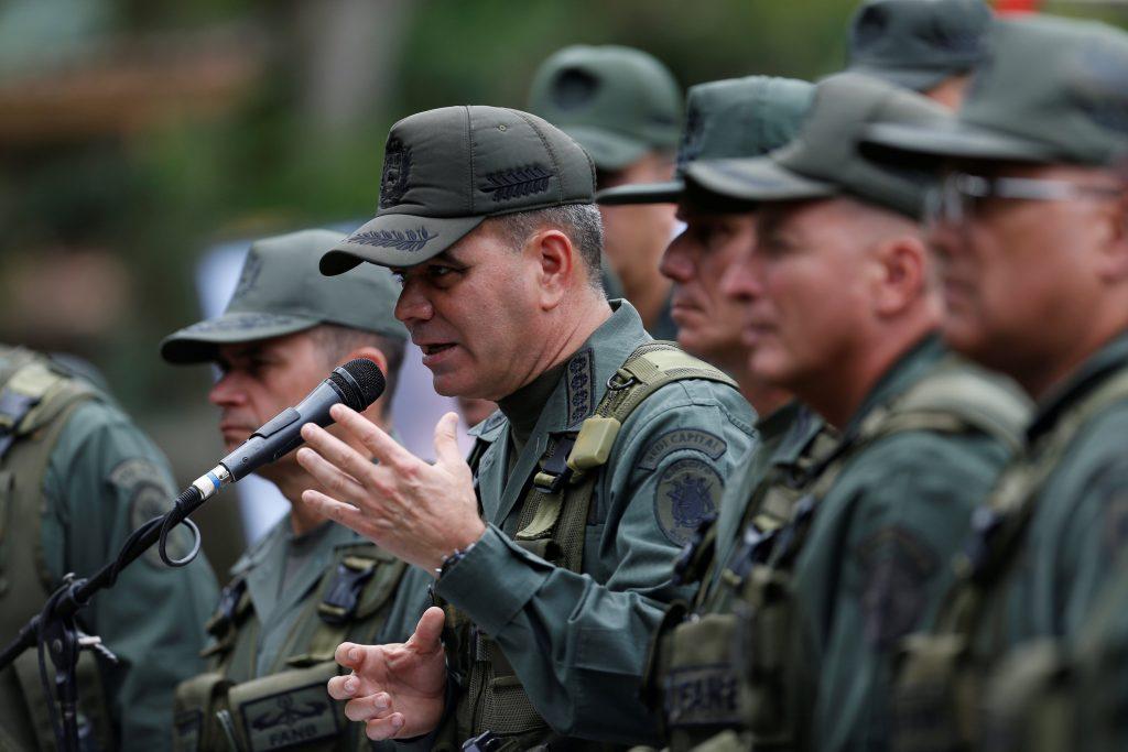 Vladimir Padrino Lopez, ministro de Defensa de Venezuela. @Reuters