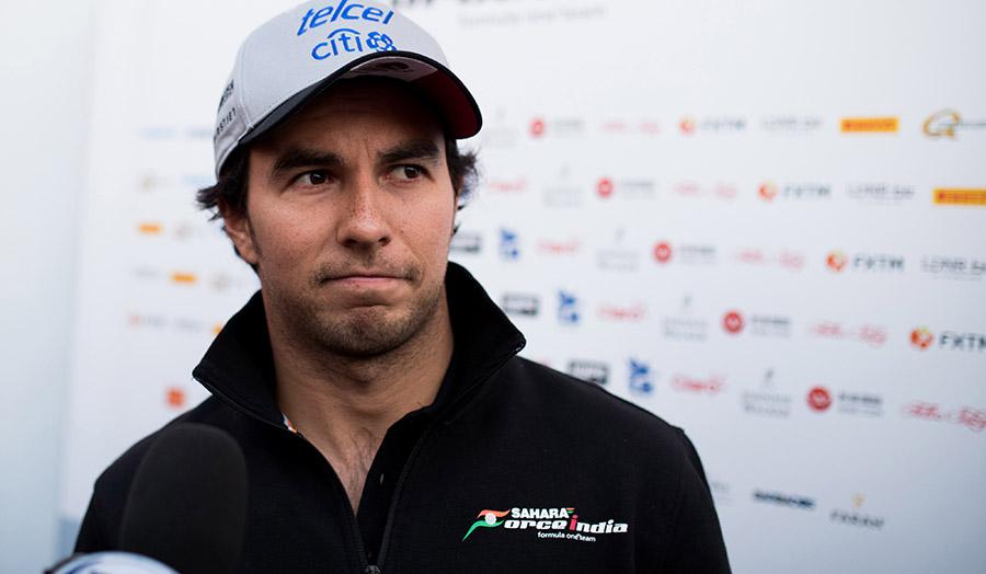 Sergio Pérez y Esteban Ocon liman asperezas en Monza