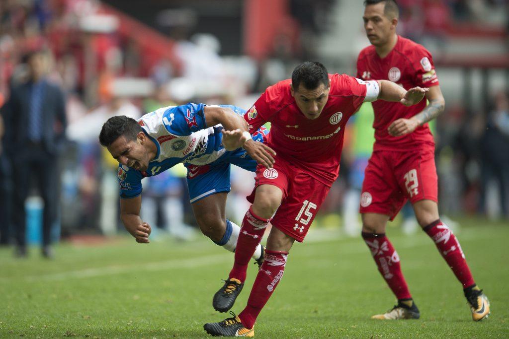 Toluca vs Puebla. @Mexsport