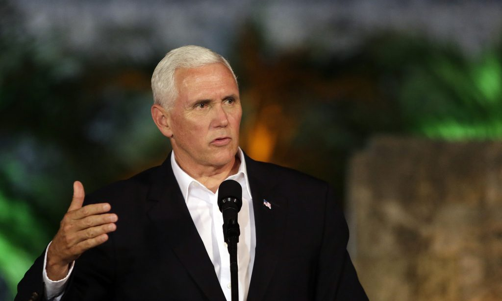 Mike Pence. EFE.