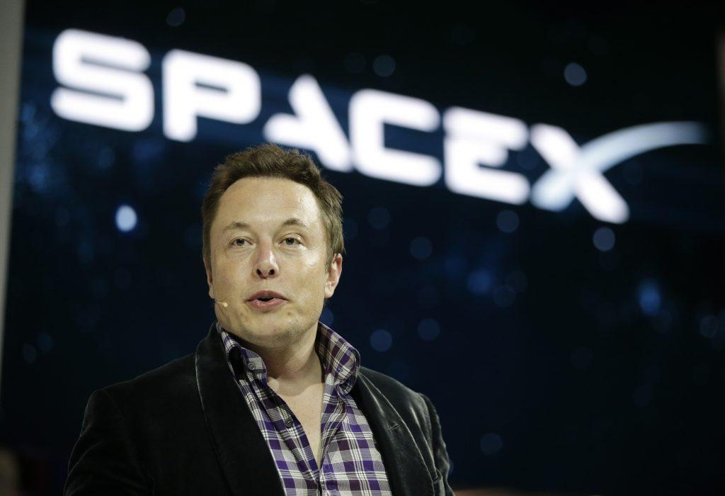 Elon Musk. @AP