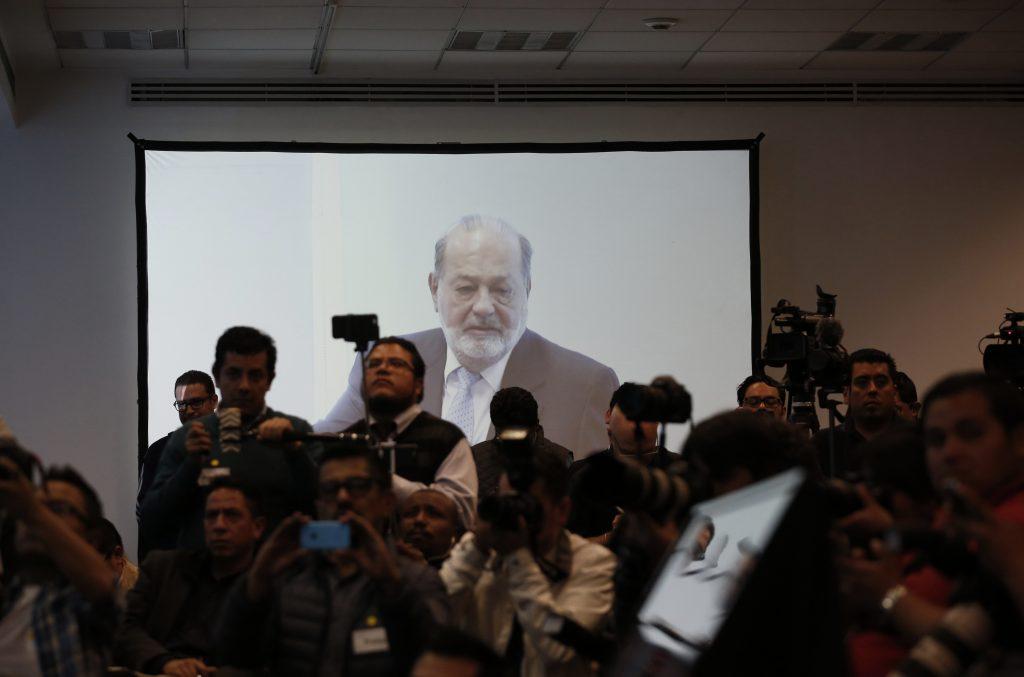 Carlos Slim. @AP
