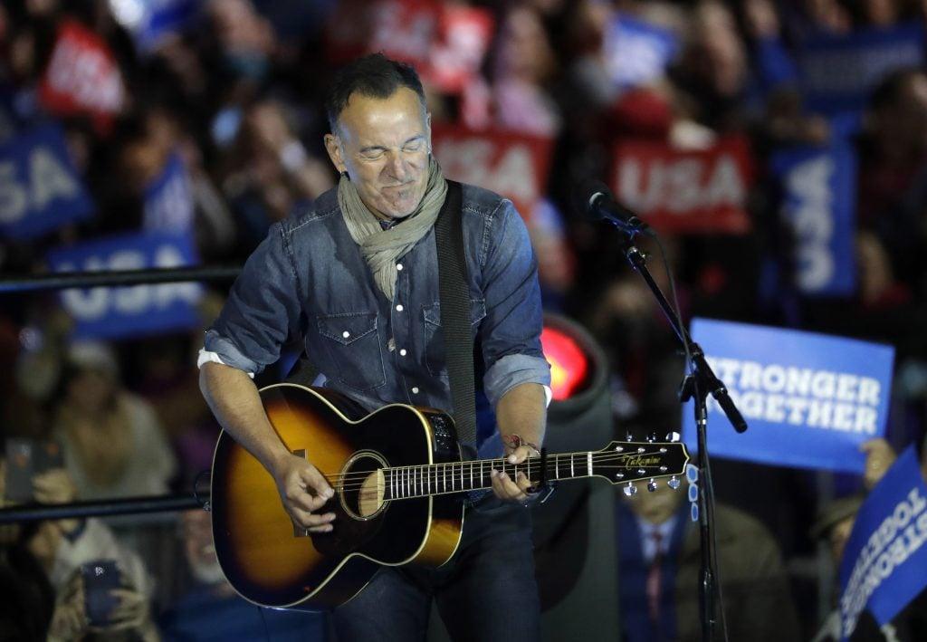 Bruce Springsteen. @Ap