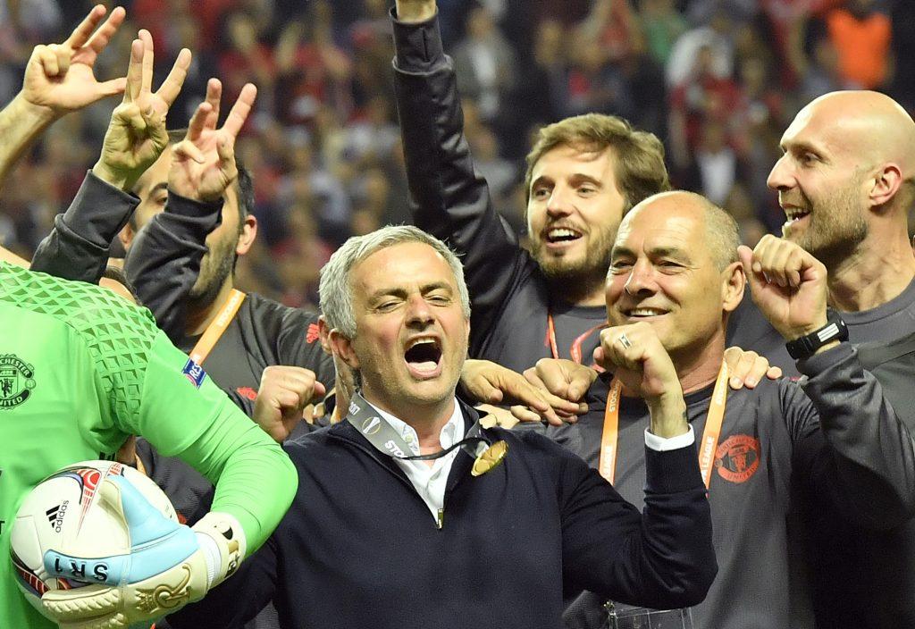 Jose Mourinho. @AP