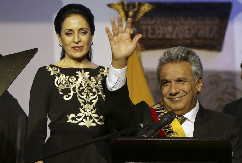 Lenin Moreno, presidene de Ecuador. @AP