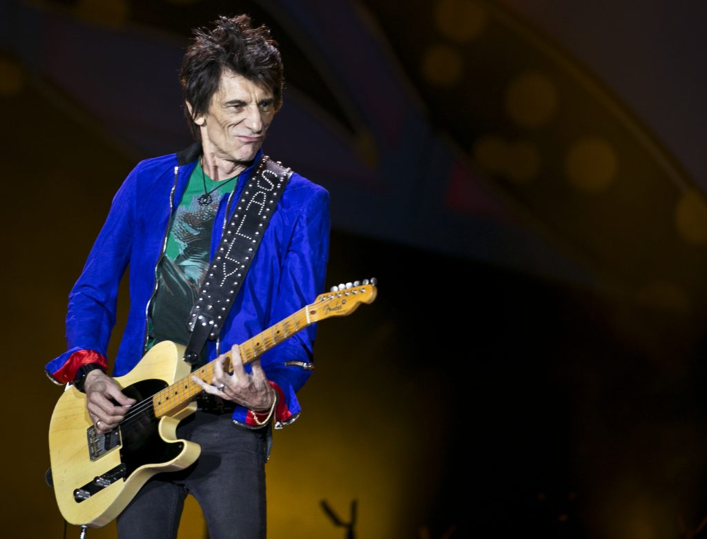 Ronnie Wood. @AP