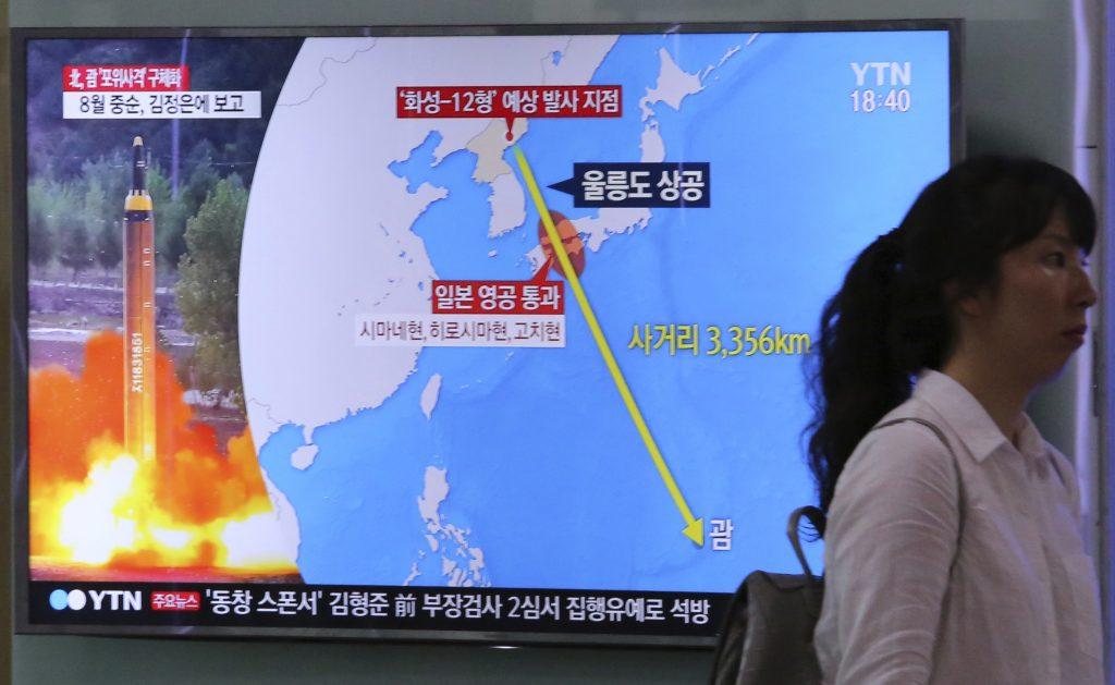 Las dos Coreas temen por un ataque nuclear. @AP