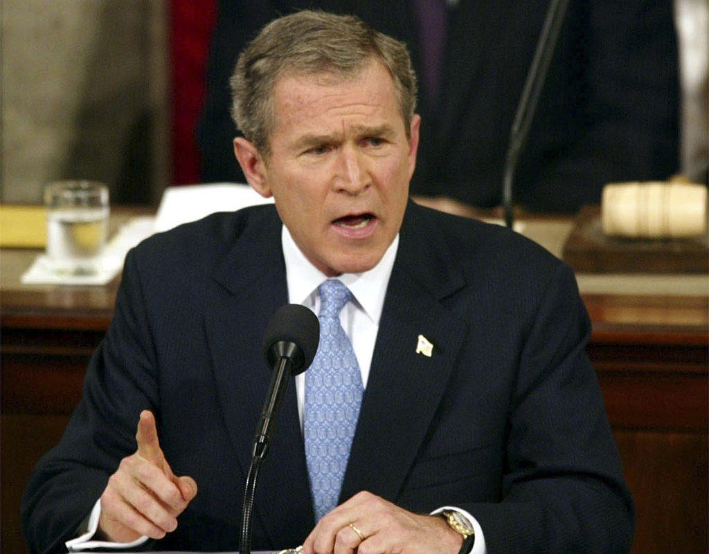 George W. Bush. @AP
