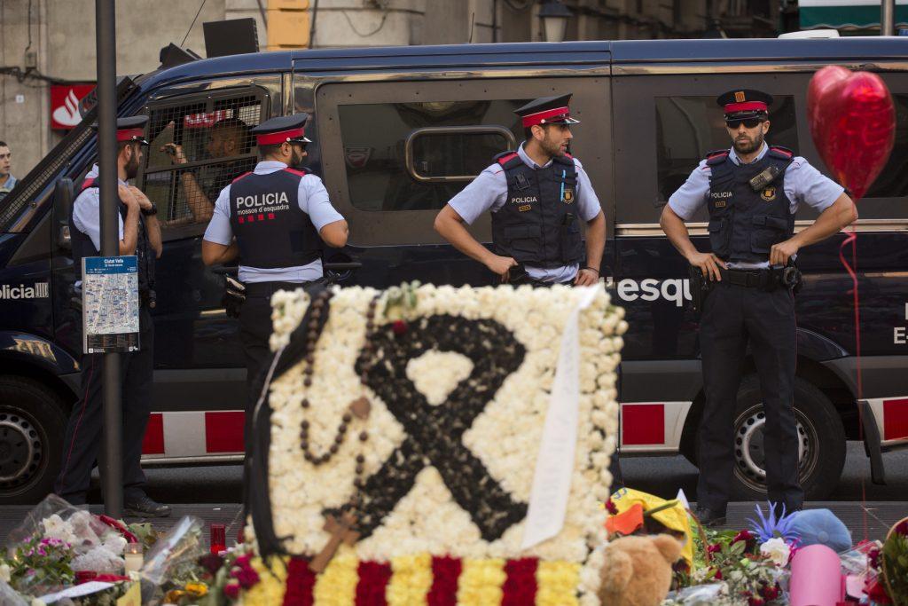 Policía Catalana. @AP