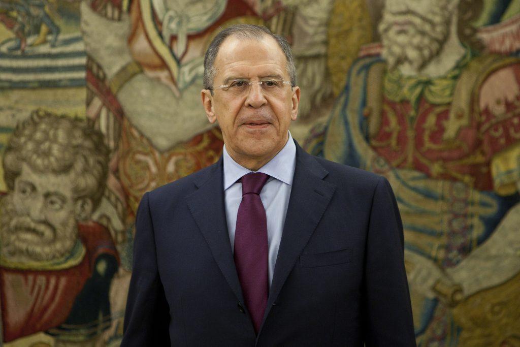 Serguei Lavrov. @AP