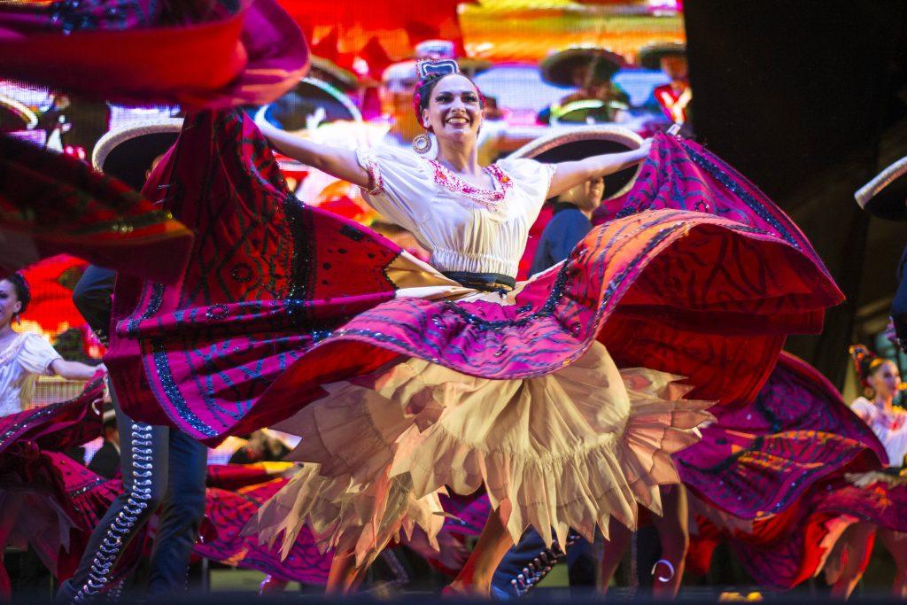 El Ballet Folklórico de México de Amalia Hernández. @Cuartoscuro.com