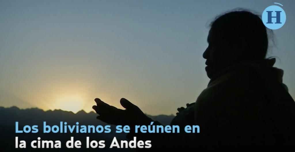 """Los bolivianos celebran a """"Pachamama"""", con rituales y ofrendas"""