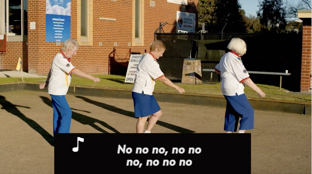 Australianas de 80 años bailan como Beyoncé para salvar su club