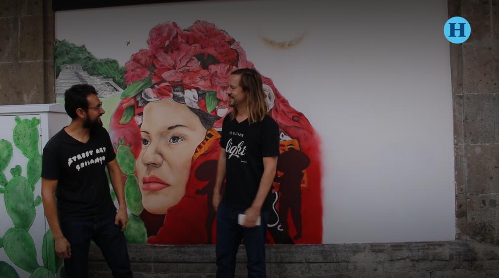 Street Art Chilango devela nuevo mural