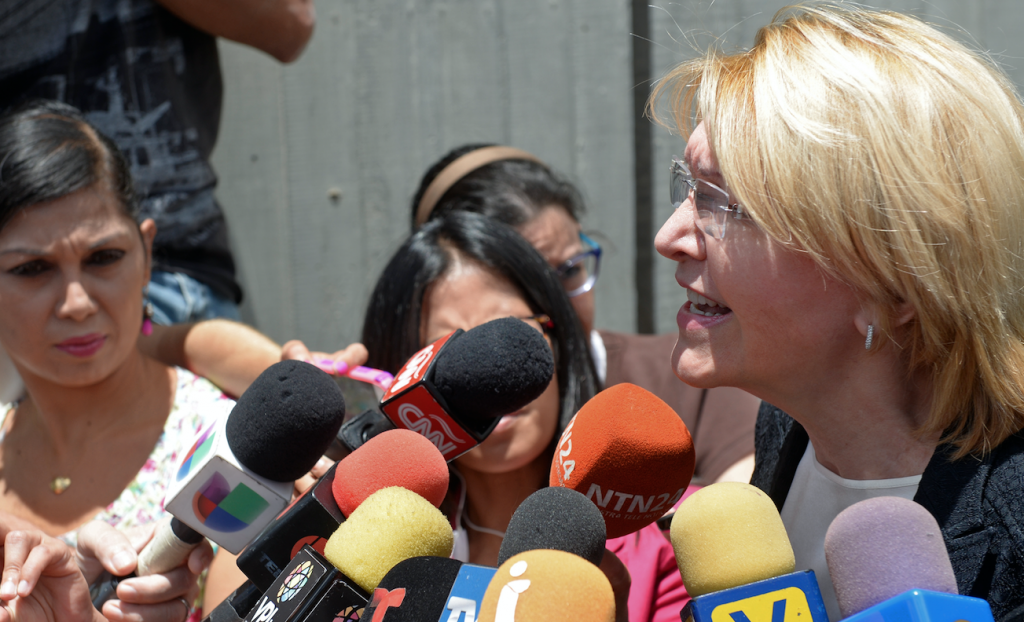 Luisa Ortega. @AFP