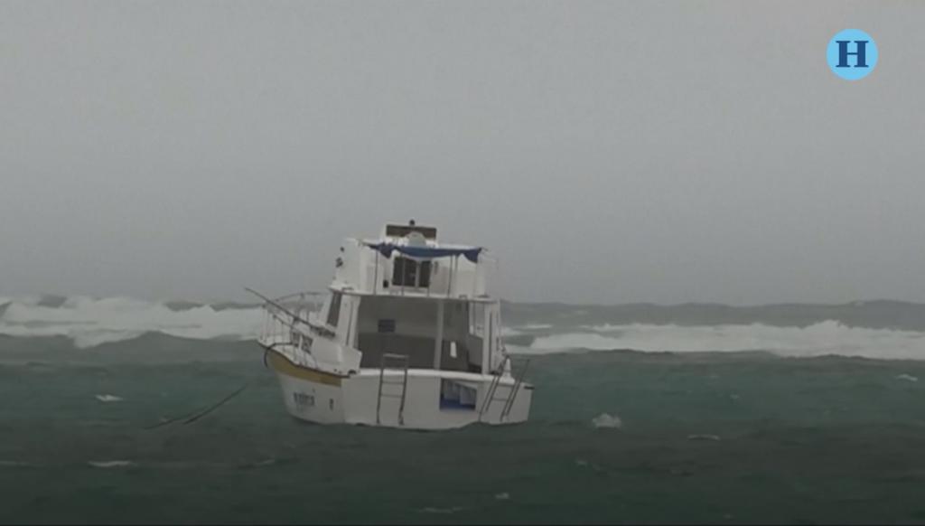 Alerta naranja en Quintana Roo por tormenta tropical Franklin