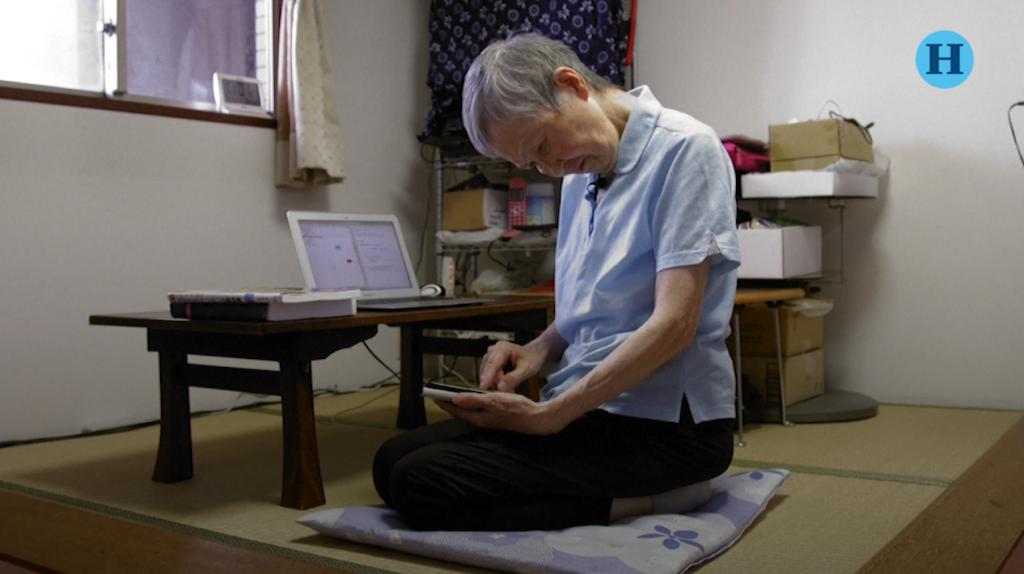 Japonesa de 82 años crea app para jugar