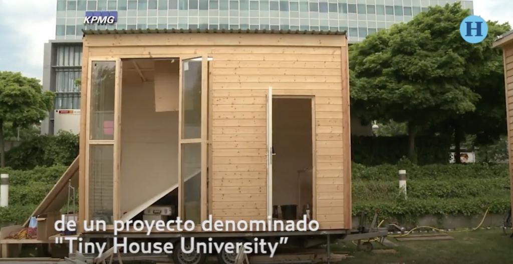 Arquitecto alemán diseña pequeñas casas para refugiados