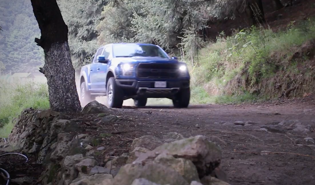 Video: Prueba de Ford Raptor