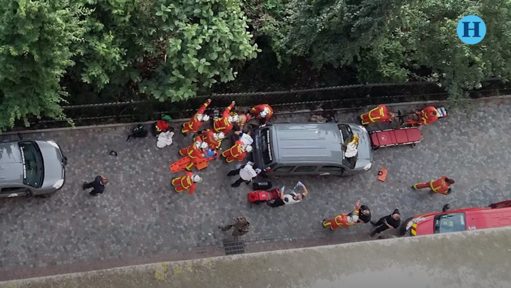 Seis heridos por un automóvil que arrolla a militares en Paris
