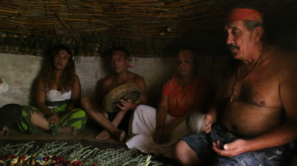 Terapia de Temazcal en una casa de medicina tradicional de la CDMX