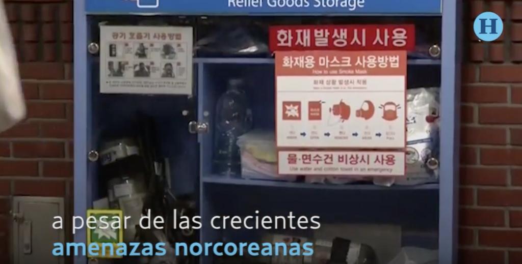 Corea del Sur cuenta con 19.000 refugios antiaéreos en todo el país