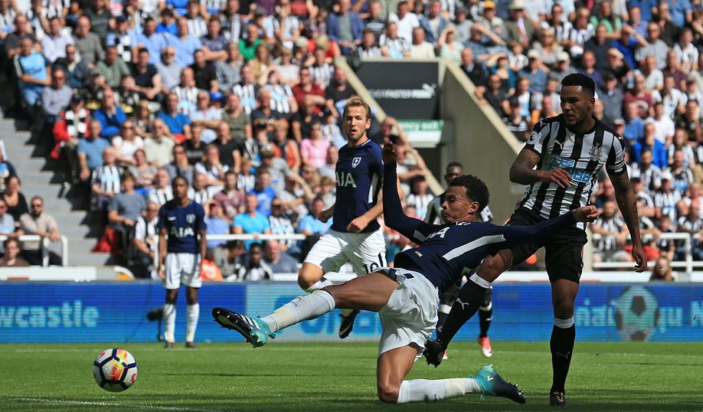 Triunfo del Tottenham. @AFP