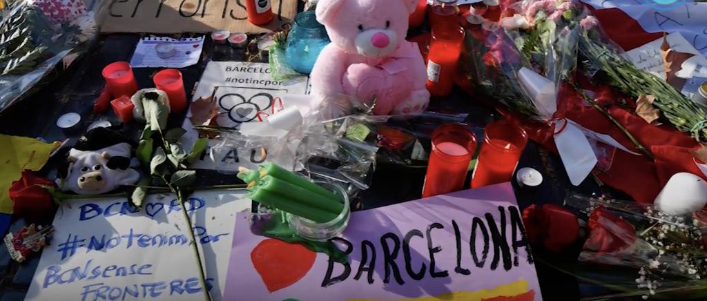 Barcelona guardó un minuto de silencio