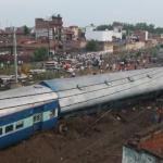 Accidente de tren en la India deja 123 heridos y más de 20 muertos