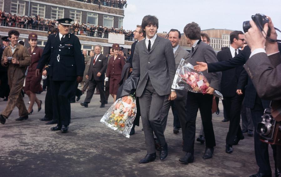Los Beatles. @AP