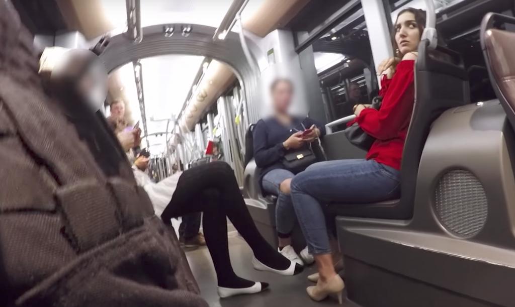 Experimento social en Bélgica: hombres no reaccionan ante acoso de mujeres