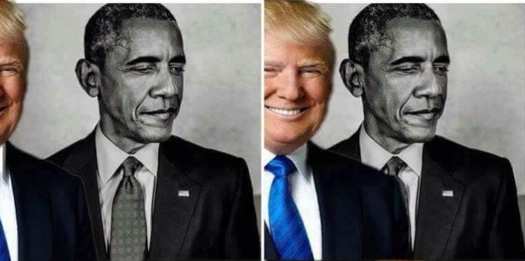 Donald Trump eclipsa a Barack Obama, aunque sea en memes