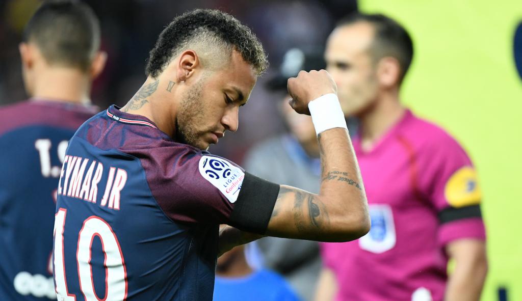 Neymar Jr. PSG. @AFP