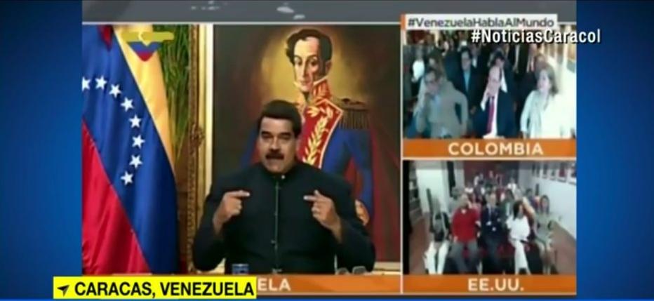 Canal Caracol sale del aire en Venezuela por orden de Nicolás Maduro