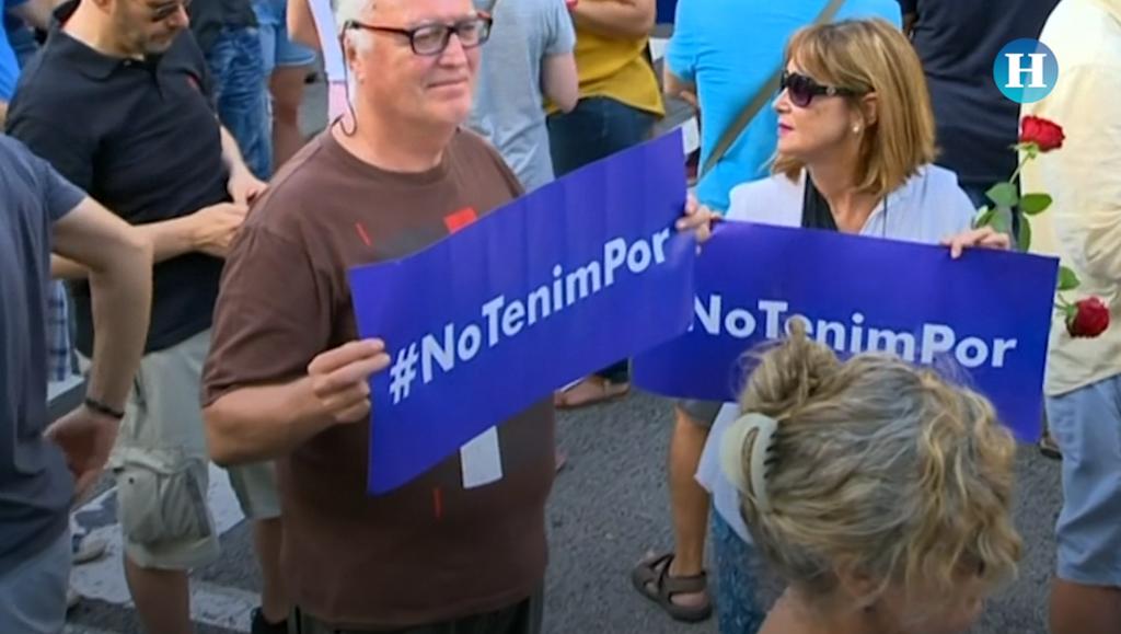 Barcelona marcha contra el terrorismo