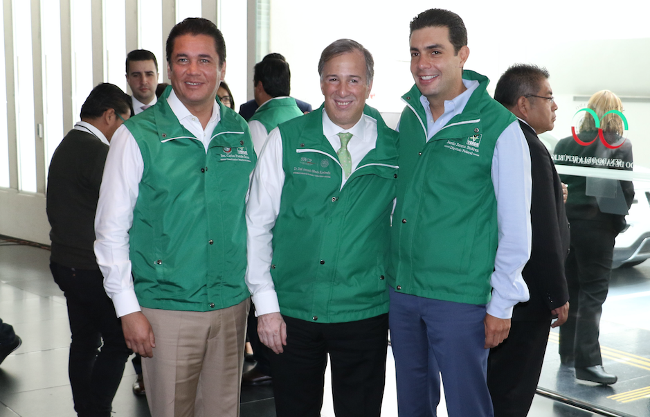 osé Antonio Meade, Secretario de Hacienda asistió a la reunión plenaria del Partido Verde Ecologista de México realizado en las instalaciones del Senado de la República. @Cuartoscuro.com