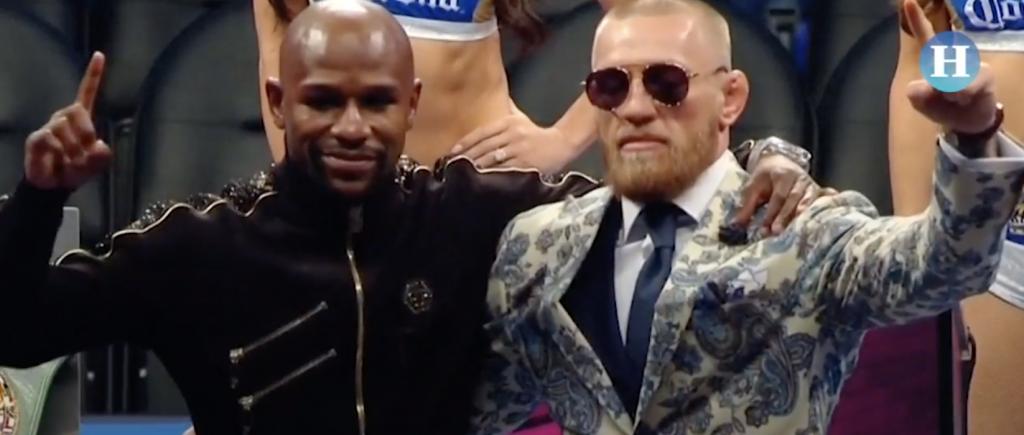 Mayweather noquea a McGregor