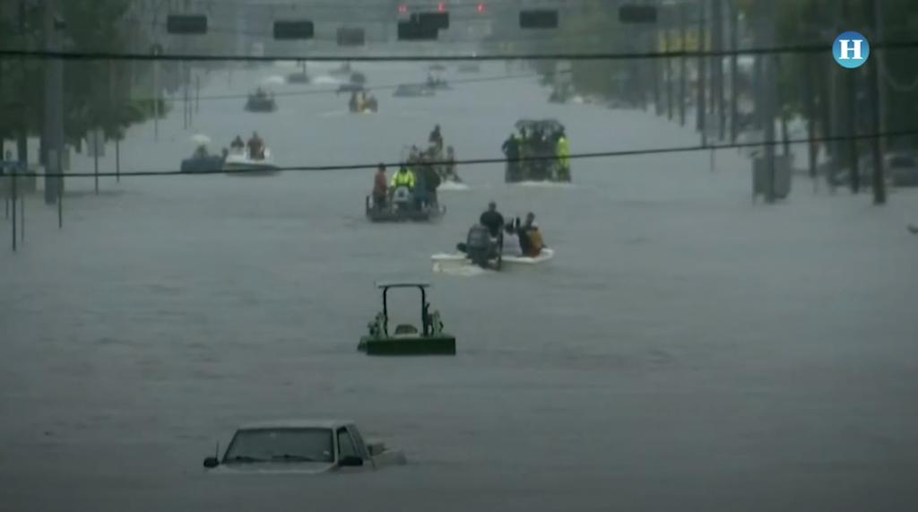 Los estragos de Harvey a su paso por Texas