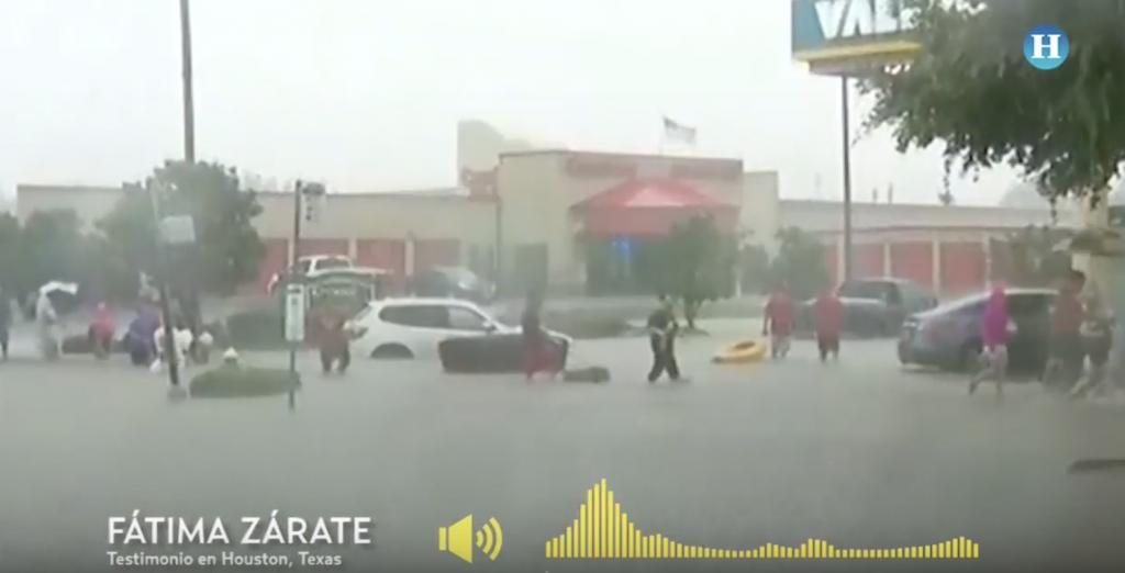 Houston sucumbe a las inundaciones por huracán Harvey
