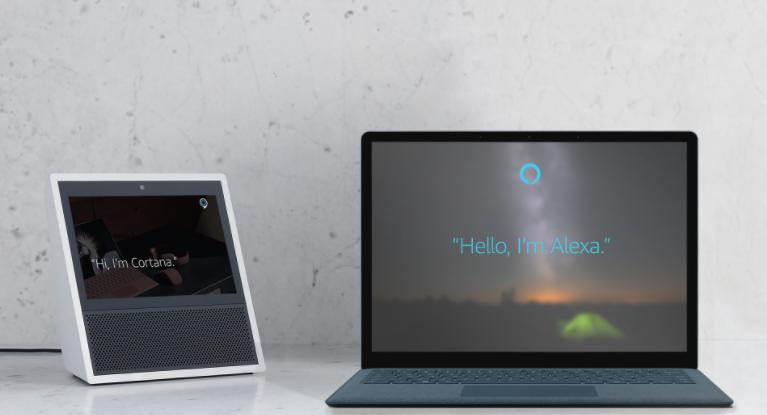 Amazon y Microsoft abren paso para que sus asistentes de voz interactúen