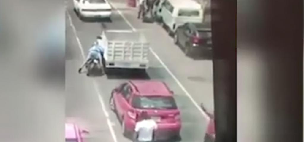 Conductor que disparó a motociclista es elemento de SSP