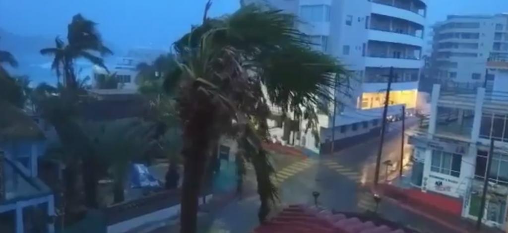 Baja California Sur en peligro por la formación de la tormenta Lidia