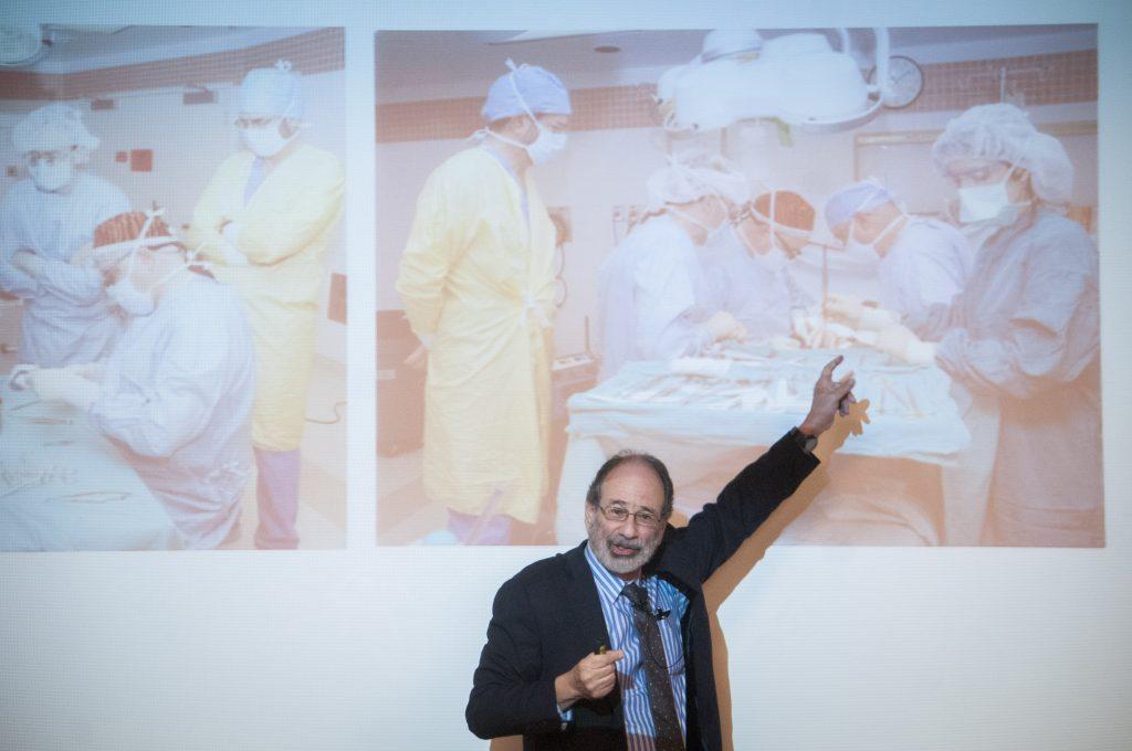 Alvin Roth, Premio Nobel de Economía de 2012, ofreció una conferencia magistral
